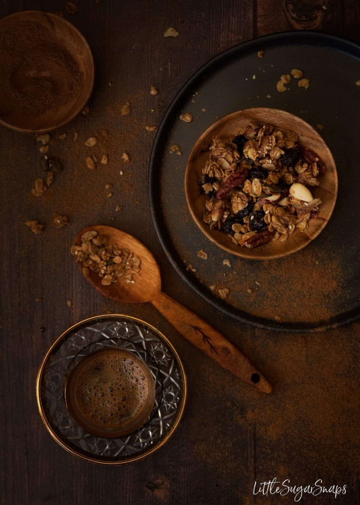 Chocolate Pumpkin Spice Granola