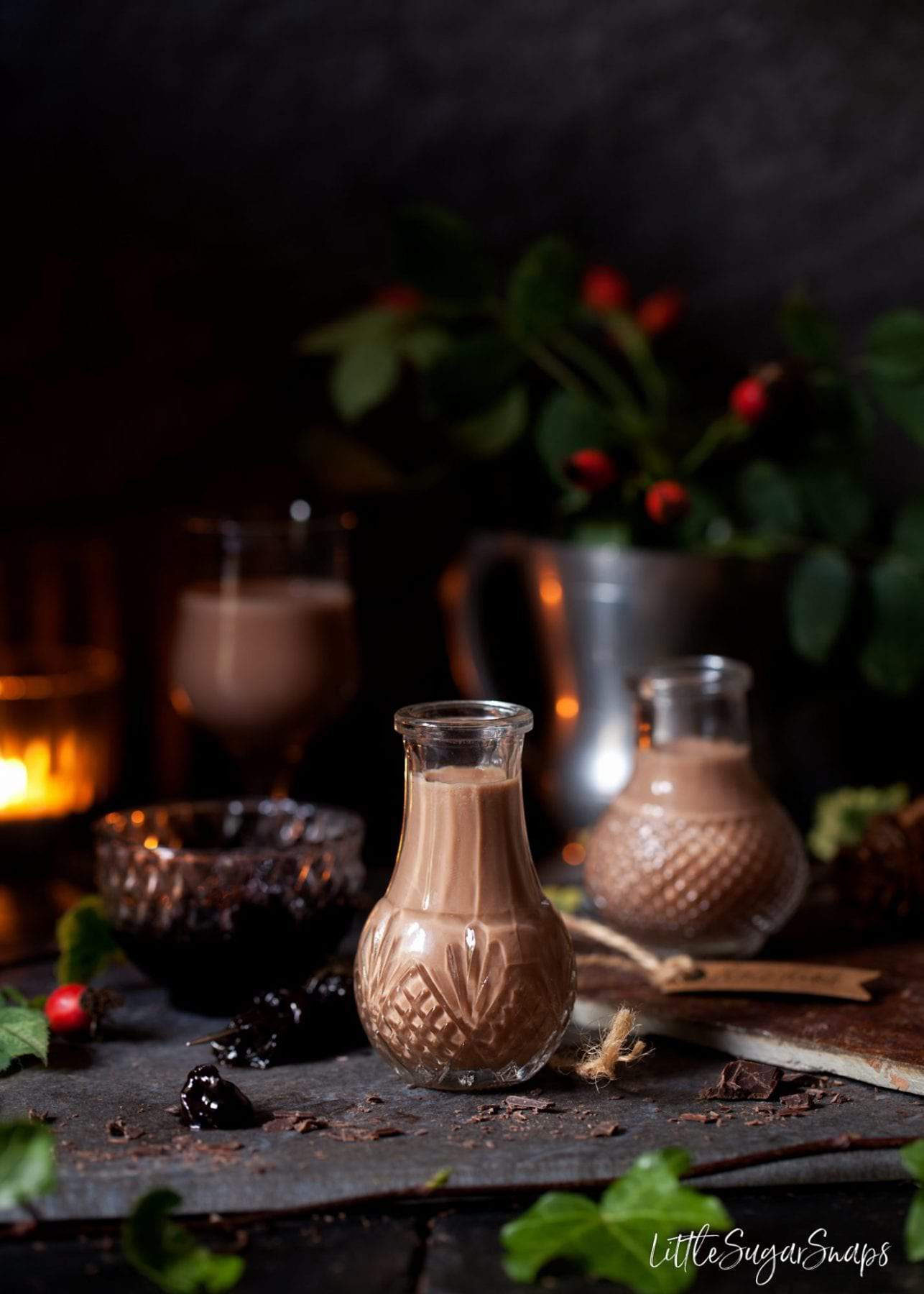 Black Forest Chocolate Liqueur