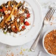 Roast Carrot Lentil Salad