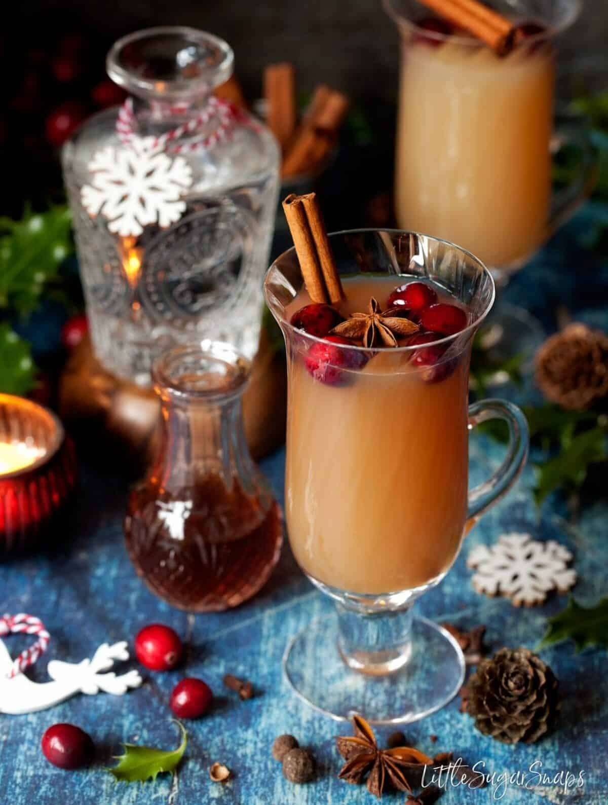 Christmas Mulled Gin and Tonic