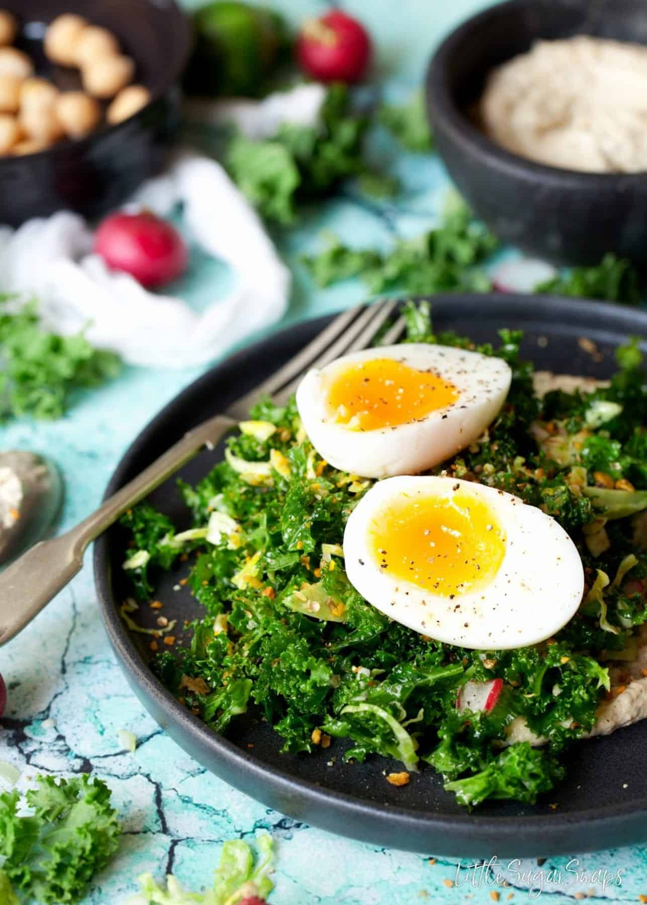 Kale and Sprout Salad