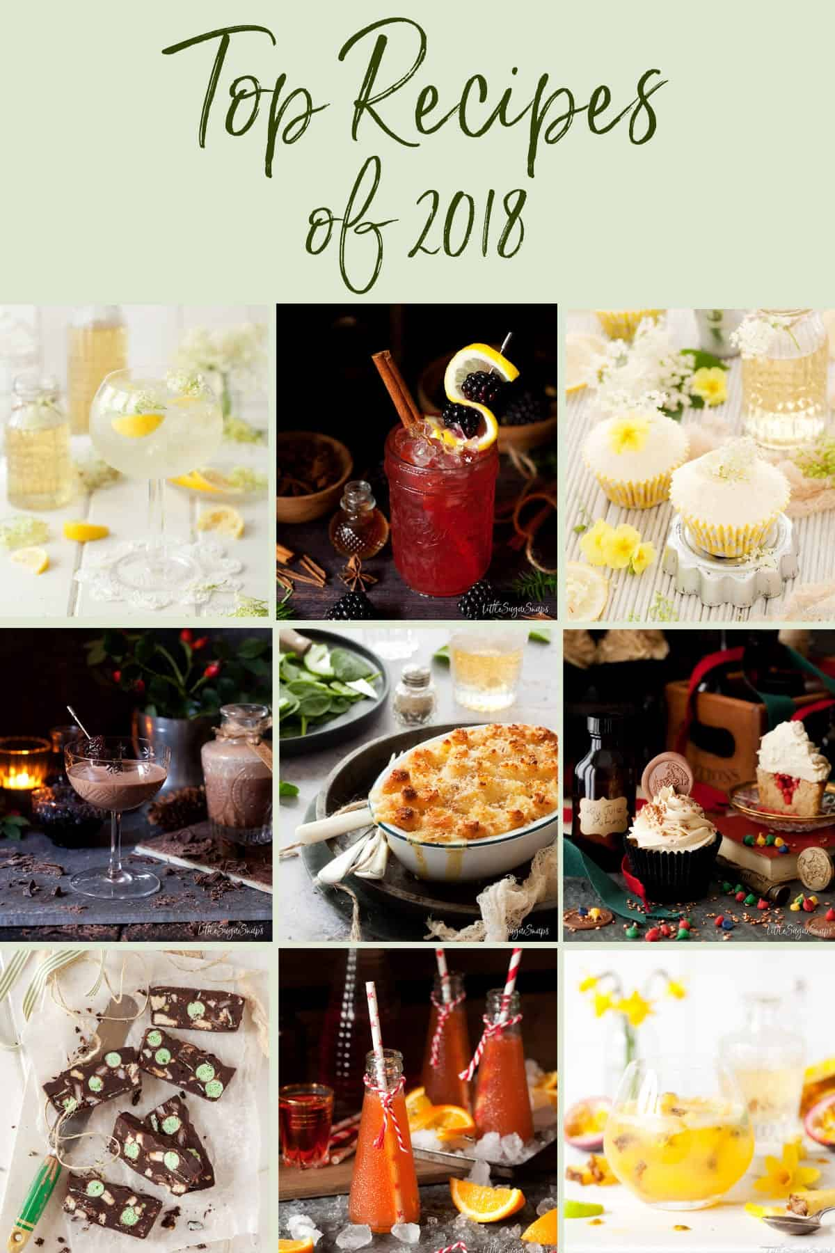 Top Recipes of 2018 - Littlesugarsnaps