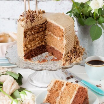 Triple Layer Coffee Cake