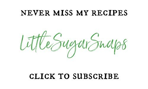Sign up for weekly email notifications of new recipes from LittleSugarSnaps