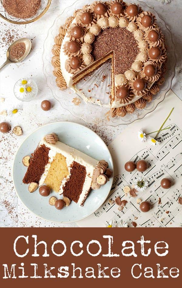 Chocolate Milkshake Cake