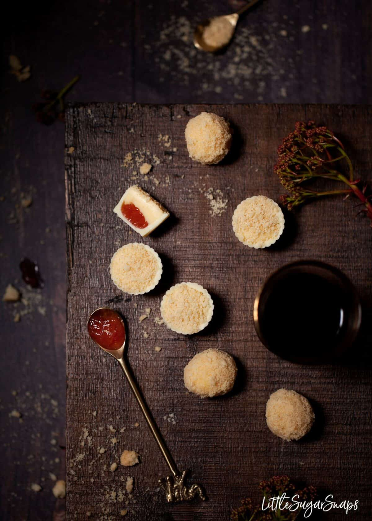 Custard Cream Truffles