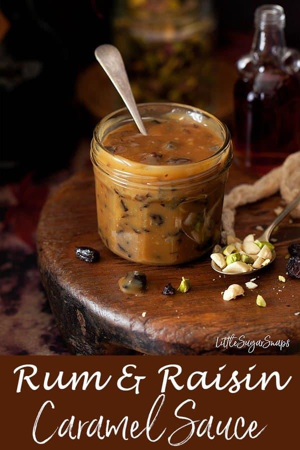 Rum & Raisin Caramel Sauce #rum&raisinsauce #caramelsauce #caramel #rumsauce #rumcaramel #rum&raisin