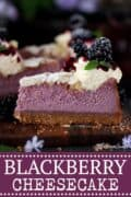 BLACKBERRY CHEESECAKE - PINTEREST IMAGE