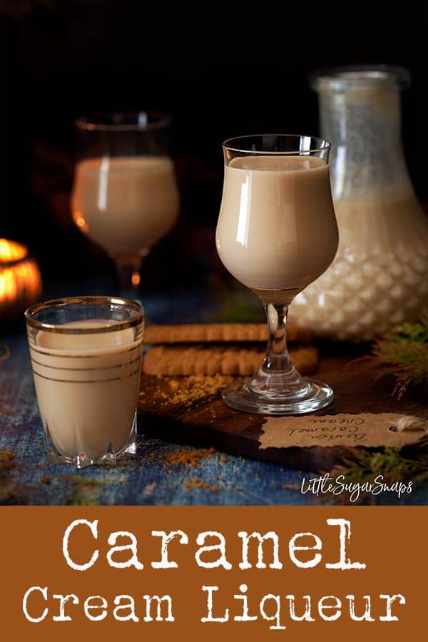A drop of Caramel Cream Liqueur on a cool evening is quite a treat. The smooth and warming taste of Bourbon compliments the creamy caramel flavour of this drink superbly. This fantastic creamy tipple should delight caramel lovers. #caramelcreamliqueur #bourboncreamliqueur #caramelbourboncreamliqueur #homemadeliqueur #creamliqueur #caramelbourbon