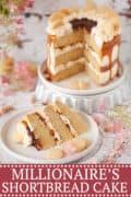 MILLIONAIRE'S SHORTBREAD CAKE - image for pinterest