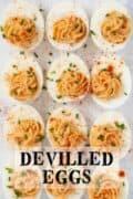 Devilled Eggs - pinterest image