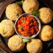 Indian Spiced Smoked Haddock Fish Cakes - Featured-6244
