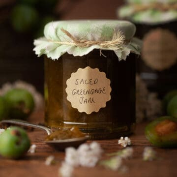 Spiced Greengage Jam - Featured Image-6806