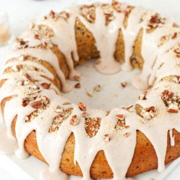 Pumpkin Spice Bundt Cake - featured image