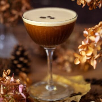 Coffee martini Ancho Reye Cocktail - featured Image