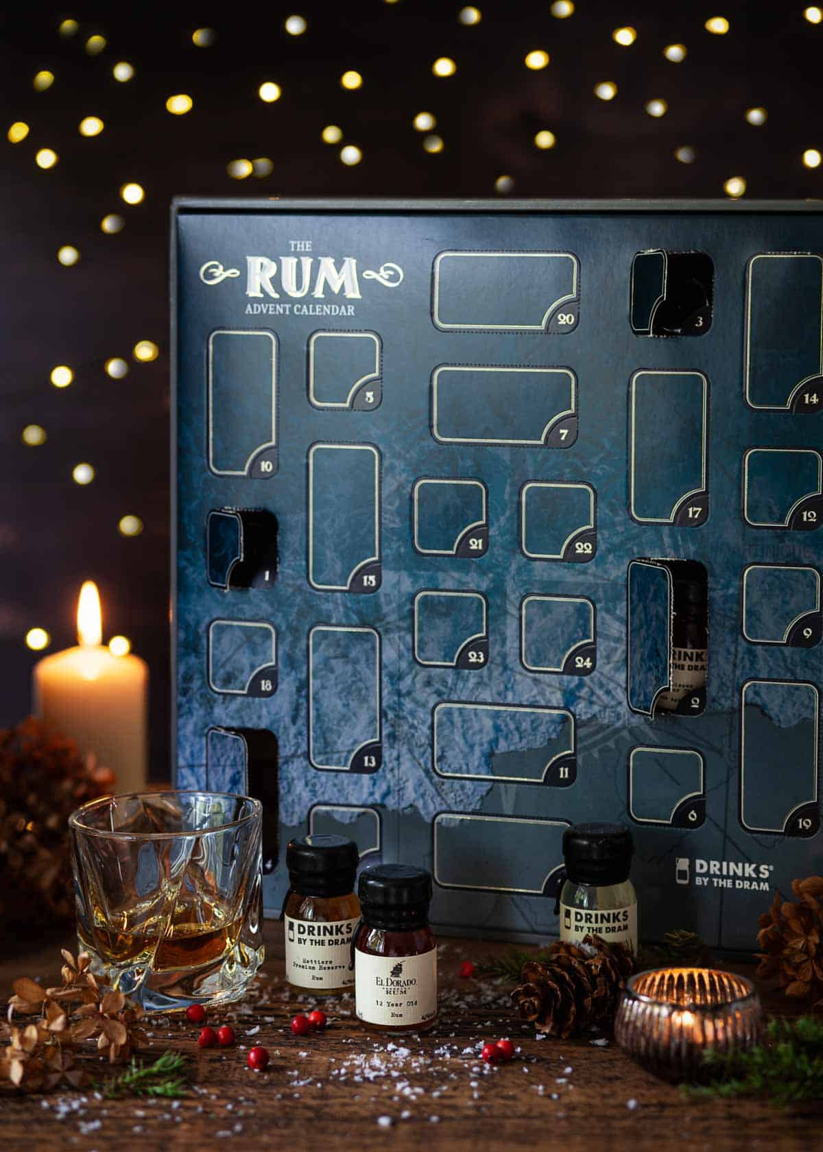 An alcoholic advent calendar
