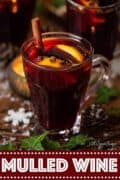 mulled wine with text overlay