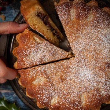 Mincemeat tart with frangipane - featured image