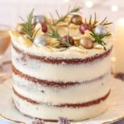 White Chocolate Baileys Cake