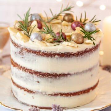 White Chocolate Baileys Cake