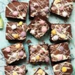 Mini Egg brownies - featured Image