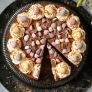 No-bake Easter egg cheesecake - featured image