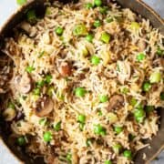 Mushroom fried rice - featured image