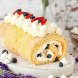 lemon meringue cake featured image